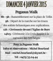 Bure : 70° anniversaire de la bataille de Bure : Pegasus Walk