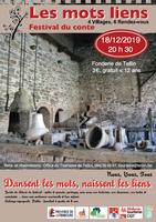 """Festival du conte """"Les Mots Liens"""" : soirée de clôture le mercredi 18/12"""