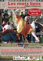 """Festival du conte """"Les Mots Liens"""" : Bavar le Passeur d'histoires le 18/09"""