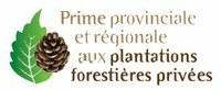 Prime provinciale aux plantations forestières privées