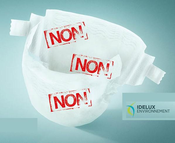 Langes : Non, non, non : pas dans les déchets organiques